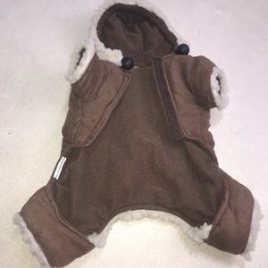 Other - Dog Pet Jacket Coat Jumper Onesie Faux Shearling